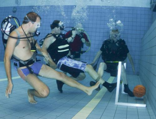Onderwater Voetbal